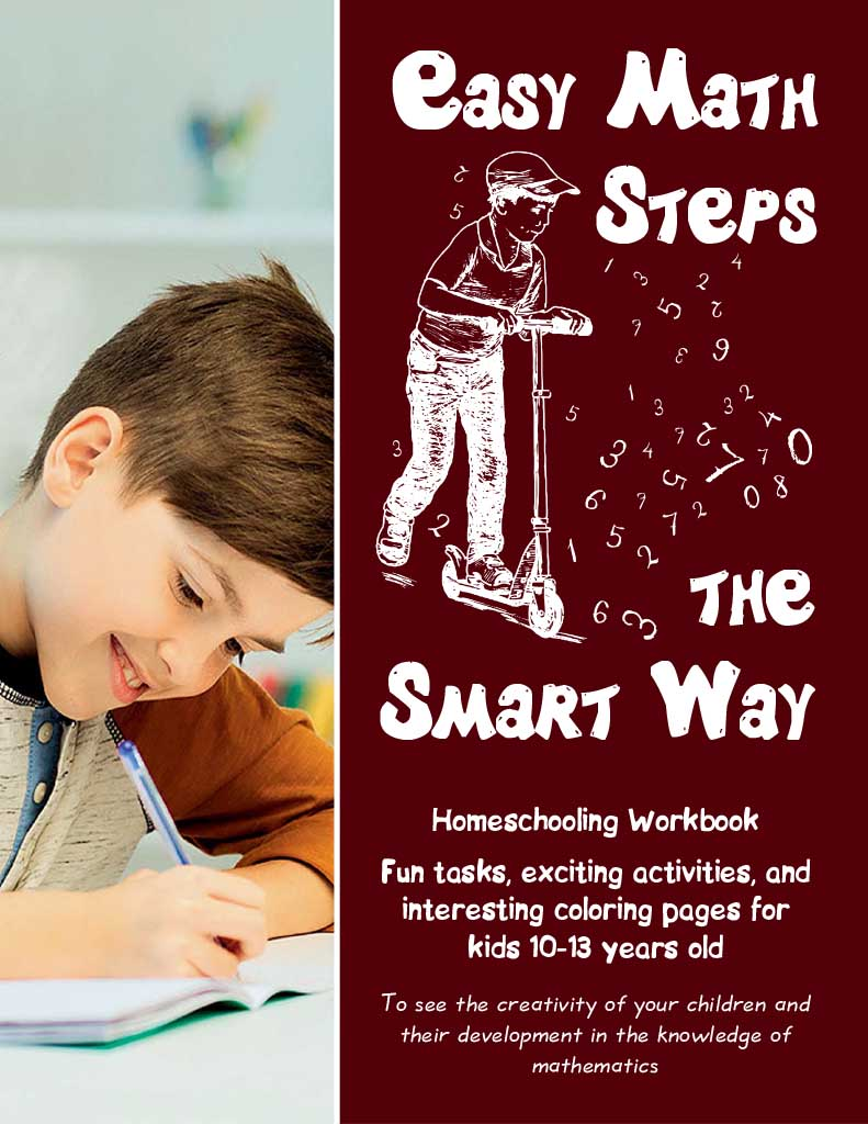 Cover of Easy Math Steps the Smart Way