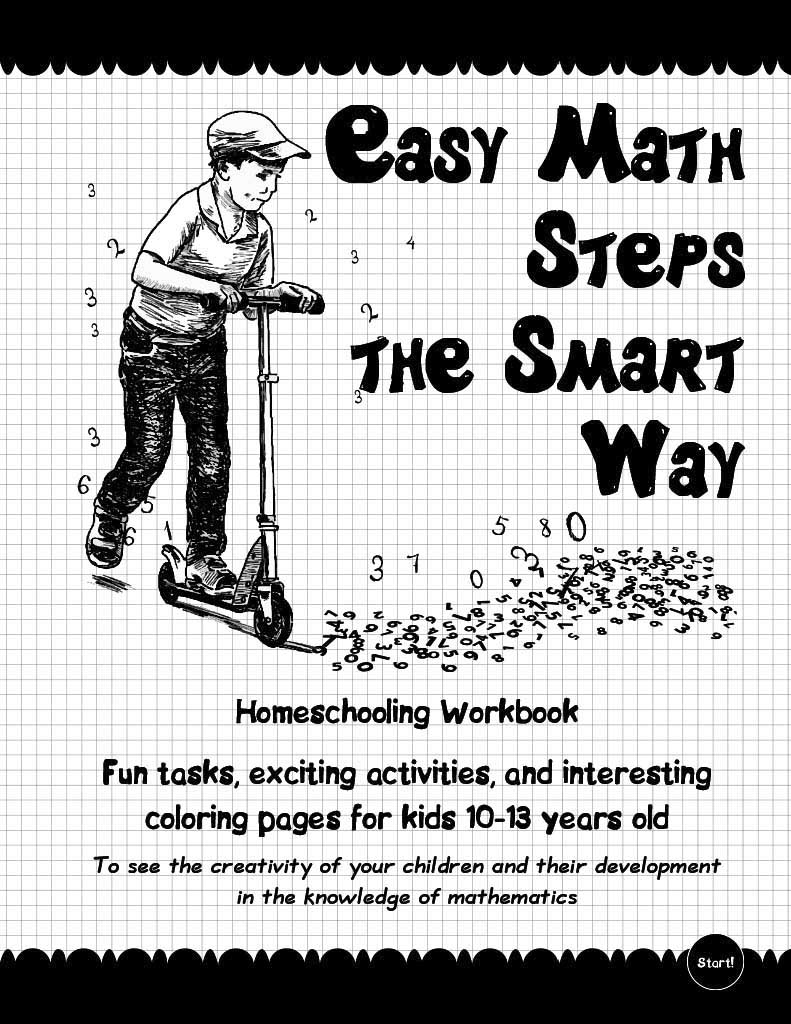 Workbooks developing spatial thinking workbook : Easy Math Steps the Smart Way