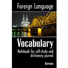 Cover of Foreign Language Vocabulary - German