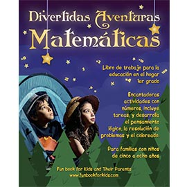 Cover of Divertidas Aventuras Matemáticas