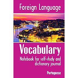Overtop Picture of Foreign Language Vocabulary - Portuguese