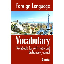 Overtop Picture of Foreign Language Vocabulary - Spanish